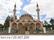 Купить «Соборная мечеть Джума Хан Джами в городе Евпатории, Крым», фото № 29367200, снято 1 июля 2018 г. (c) Николай Мухорин / Фотобанк Лори