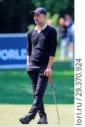Купить «Sports stars and celebrities join professional golfers at the BMW PGA Championship pro-am at Wentworth Golf Club Featuring: Pep Guardiola Where: Wentworth...», фото № 29370924, снято 23 мая 2018 г. (c) age Fotostock / Фотобанк Лори