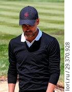 Купить «Sports stars and celebrities join professional golfers at the BMW PGA Championship pro-am at Wentworth Golf Club Featuring: Pep Guardiola Where: Wentworth...», фото № 29370928, снято 23 мая 2018 г. (c) age Fotostock / Фотобанк Лори