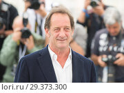 Купить «71st annual Cannes Film Festival - At War - Photocall Featuring: Vincent Lindon Where: Cannes, France When: 16 May 2018 Credit: Euan Cherry/WENN.», фото № 29373300, снято 16 мая 2018 г. (c) age Fotostock / Фотобанк Лори