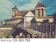 Купить «Fortified church in Valea Viilor, Romania», фото № 29383788, снято 17 сентября 2017 г. (c) Яков Филимонов / Фотобанк Лори