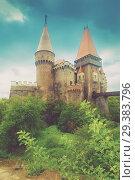 Купить «Corvin Castle, Hunedoara, Romania», фото № 29383796, снято 21 сентября 2017 г. (c) Яков Филимонов / Фотобанк Лори