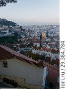 Купить «Lisbon from above. Portugal», фото № 29384784, снято 16 февраля 2018 г. (c) Liseykina / Фотобанк Лори