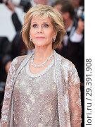 Купить «71st annual Cannes Film Festival - BlacKkKlansman - Premiere Featuring: Jane Fonda Where: Cannes, France When: 14 May 2018 Credit: Euan Cherry/WENN.», фото № 29391908, снято 14 мая 2018 г. (c) age Fotostock / Фотобанк Лори