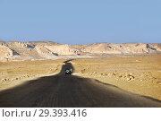Купить «Road in Sahara desert, Egypt», фото № 29393416, снято 28 декабря 2008 г. (c) Знаменский Олег / Фотобанк Лори