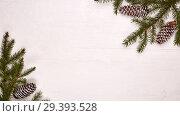 Купить «New Year and Christmas background», фото № 29393528, снято 31 октября 2018 г. (c) Мельников Дмитрий / Фотобанк Лори