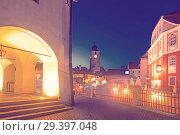 Купить «Image of Tower Sfatului is architecture landmark of Sibiu», фото № 29397048, снято 17 сентября 2017 г. (c) Яков Филимонов / Фотобанк Лори