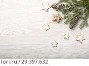 Купить «New Year and Christmas background», фото № 29397632, снято 4 ноября 2018 г. (c) Мельников Дмитрий / Фотобанк Лори