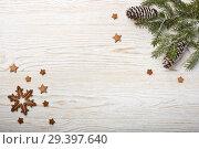 Купить «New Year and Christmas background», фото № 29397640, снято 4 ноября 2018 г. (c) Мельников Дмитрий / Фотобанк Лори