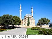 Купить «Мечеть на Аллее шахидов в Нагорном парке. Баку. Азербайджан», фото № 29400524, снято 23 сентября 2015 г. (c) Евгений Ткачёв / Фотобанк Лори