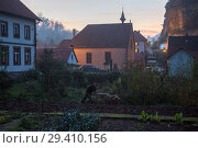 France, The small village Graufthal in the Zinseltal in the northern Vosges in Alsace  (2014 год). Редакционное фото, агентство Caro Photoagency / Фотобанк Лори