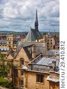 The Exeter college chapel. Oxford University. Oxford. England (2009 год). Стоковое фото, фотограф Serg Zastavkin / Фотобанк Лори