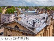 Купить «Clarendon Building, as seen from the cupola of Sheldonian Theatre. Oxford University. England», фото № 29410816, снято 15 мая 2009 г. (c) Serg Zastavkin / Фотобанк Лори