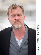 Купить «71st annual Cannes Film Festival - 'Rendezvous With Christopher Nolan' - Photocall Featuring: Christopher Nolan Where: Cannes, France When: 12 May 2018 Credit: Euan Cherry/WENN.», фото № 29417180, снято 12 мая 2018 г. (c) age Fotostock / Фотобанк Лори