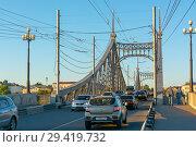 Купить «Тверь, Староволжский мост», эксклюзивное фото № 29419732, снято 19 сентября 2018 г. (c) Alexei Tavix / Фотобанк Лори