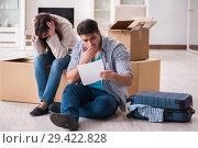 Купить «Young couple receiving foreclosure notice letter», фото № 29422828, снято 23 марта 2018 г. (c) Elnur / Фотобанк Лори