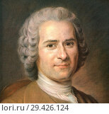 Купить «Jean-Jacques Rousseau, 1712-1778. Genevan philosopher, writer and composer.», фото № 29426124, снято 22 октября 2019 г. (c) age Fotostock / Фотобанк Лори
