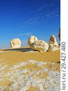 Купить «White desert Sahara Egypt», фото № 29427480, снято 26 декабря 2008 г. (c) Знаменский Олег / Фотобанк Лори