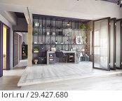 Купить «home office interior.», фото № 29427680, снято 23 января 2019 г. (c) Виктор Застольский / Фотобанк Лори