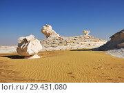 Купить «White desert Sahara Egypt», фото № 29431080, снято 27 декабря 2008 г. (c) Знаменский Олег / Фотобанк Лори