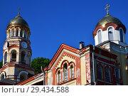 Купить «Orthodox Monastery in New Athos in Abkhazia», фото № 29434588, снято 3 июня 2018 г. (c) Володина Ольга / Фотобанк Лори