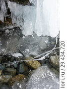 Купить «Ice of Lake Baikal», фото № 29434720, снято 4 марта 2017 г. (c) Юлия Белоусова / Фотобанк Лори