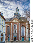 Купить «St. Maximilian Church, Dusseldorf, Germany», фото № 29437608, снято 7 февраля 2018 г. (c) Boris Breytman / Фотобанк Лори