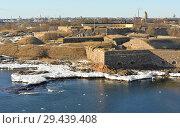 Купить «Suomenlinna (Sveaborg) fortress. Хельсинки, Финляндия. Конец зимы», фото № 29439408, снято 26 марта 2018 г. (c) Валерия Попова / Фотобанк Лори