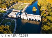 Chateau de Chenonceau, France (2018 год). Редакционное фото, фотограф Яков Филимонов / Фотобанк Лори