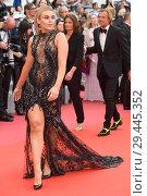 Купить «71st annual Cannes Film Festival - Yomeddine - Premiere Featuring: Tallia Storm Where: Cannes, France When: 09 May 2018 Credit: Euan Cherry/WENN.», фото № 29445352, снято 9 мая 2018 г. (c) age Fotostock / Фотобанк Лори