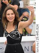 Купить «71st annual Cannes Film Festival - Un Certain Regard - Jury Photocall Featuring: Virginie Ledoyen Where: Cannes, France When: 09 May 2018 Credit: Euan Cherry/WENN.», фото № 29445824, снято 9 мая 2018 г. (c) age Fotostock / Фотобанк Лори