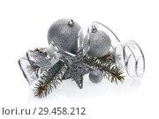 Купить «Christmas and New Year ornaments», фото № 29458212, снято 17 ноября 2018 г. (c) Мельников Дмитрий / Фотобанк Лори