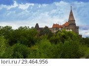 Купить «Corvin Castle, Hunedoara, Romania», фото № 29464956, снято 21 сентября 2017 г. (c) Яков Филимонов / Фотобанк Лори