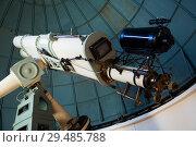 Купить «professional telescope», фото № 29485788, снято 17 апреля 2016 г. (c) Яков Филимонов / Фотобанк Лори