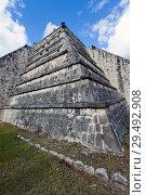 Купить «Archeological site of Chichen Itza in Yucatan, Mexico», фото № 29492908, снято 1 февраля 2010 г. (c) Куликов Константин / Фотобанк Лори