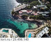 Купить «Luxury apartments and hotel with swimming pool, Mallorca, Spain», фото № 29498140, снято 5 ноября 2018 г. (c) Alexander Tihonovs / Фотобанк Лори