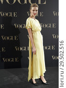 Купить «Sasha Luss attends Vogue joyas awards photocall at Madrid at Palacio Santona on November 29, 2018 in Madrid, Spain», фото № 29502516, снято 29 ноября 2018 г. (c) age Fotostock / Фотобанк Лори