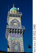 Купить «Clocktower of Al-Kadhimiya aka Golden Mosque in Baghdad Iraq», фото № 29502940, снято 30 октября 2011 г. (c) Сергей Майоров / Фотобанк Лори