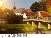 Купить «Traditional village of France», фото № 29509908, снято 8 октября 2018 г. (c) Яков Филимонов / Фотобанк Лори