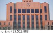 Купить «KAZAN, RUSSIA. 01-12-2018 - State institution. An overview», видеоролик № 29522888, снято 12 ноября 2019 г. (c) Константин Шишкин / Фотобанк Лори