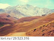Купить «Andes near Las Lenas», фото № 29523316, снято 9 февраля 2017 г. (c) Яков Филимонов / Фотобанк Лори