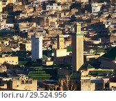 Купить «Medersa in old Medina in Fes Morocco», фото № 29524956, снято 15 февраля 2018 г. (c) Михаил Коханчиков / Фотобанк Лори