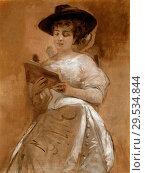 Купить «Charlemont Eduard - Portrait of Frau CILLI Jettel-Mailer.», фото № 29534844, снято 11 декабря 2018 г. (c) age Fotostock / Фотобанк Лори