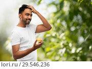 Купить «indian man applying hair wax or styling gel», фото № 29546236, снято 27 октября 2018 г. (c) Syda Productions / Фотобанк Лори
