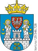 Купить «Герб города Познань. Польша», иллюстрация № 29546728 (c) Владимир Макеев / Фотобанк Лори