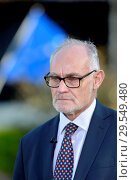 Купить «Crispin Blunt MP (Con: Reigate) being interviewed on College Green, Westminster, November 2018.», фото № 29549480, снято 14 ноября 2018 г. (c) age Fotostock / Фотобанк Лори