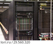 Купить «Server racks of Barcelona Supercomputing Center», фото № 29560320, снято 16 января 2018 г. (c) Яков Филимонов / Фотобанк Лори