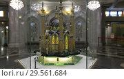 Купить «Макет мечети Кул-Шариф в мечети Кул Шариф в Казани», видеоролик № 29561684, снято 6 декабря 2018 г. (c) Яна Королёва / Фотобанк Лори