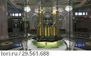 Купить «Макет мечети Кул-Шариф в зале мечети Кул Шариф в Казани», видеоролик № 29561688, снято 6 декабря 2018 г. (c) Яна Королёва / Фотобанк Лори