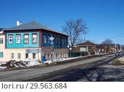 Купить «Улица Первомайская в Зарайске», фото № 29563684, снято 9 марта 2018 г. (c) Natalya Sidorova / Фотобанк Лори
